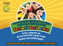 Plakat Dzień Dziecka 2017