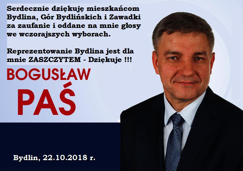 Podziękowanie-BogusławPaś